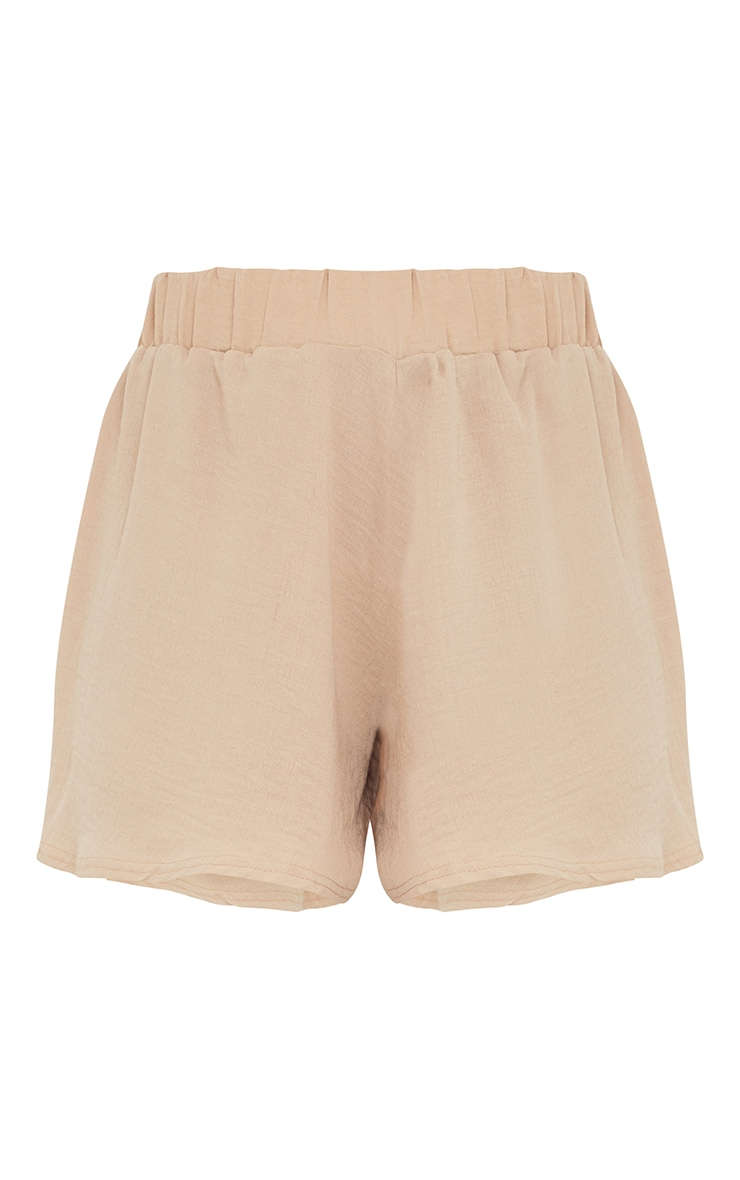 Stone Hammered Woven Floaty Shorts 6