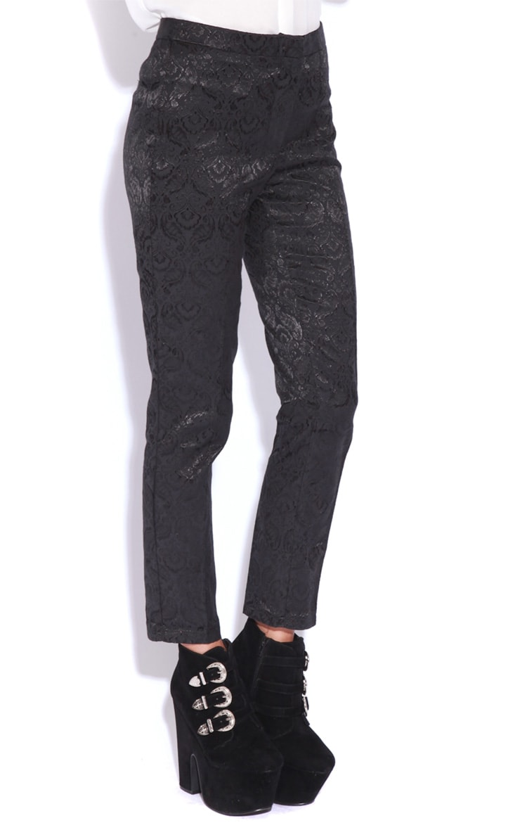 Felix Black Baroque Trousers 3