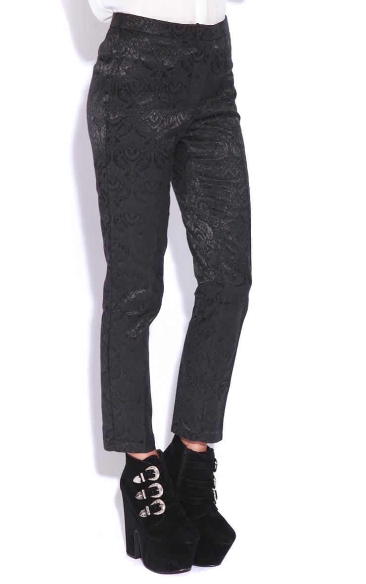 Felix Black Baroque Trousers 3