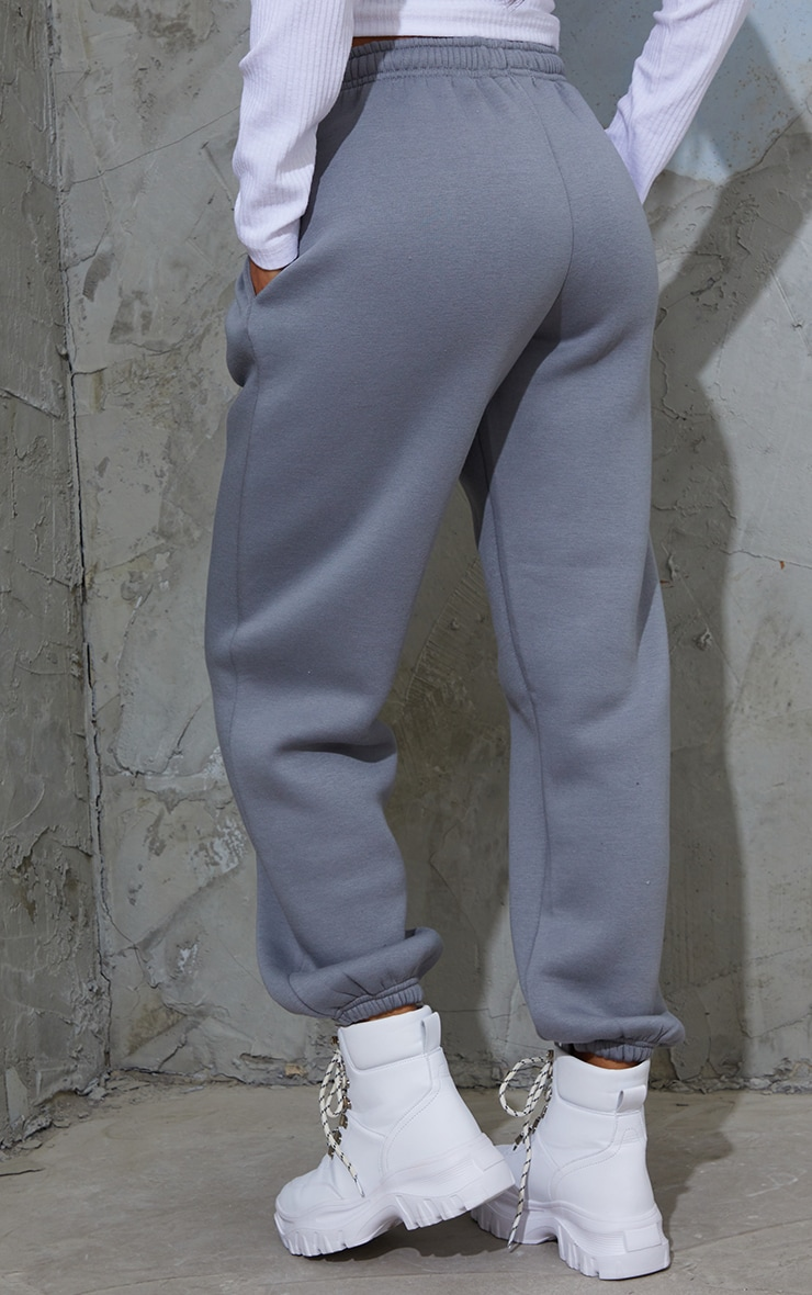 Charcoal Blue Casual Joggers 3