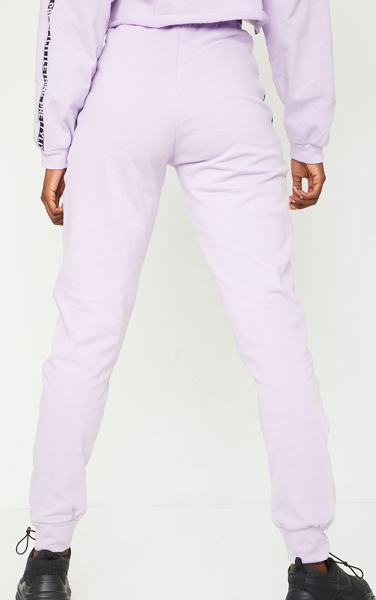 PRETTYLITTLETHING Tall Lilac Joggers 3