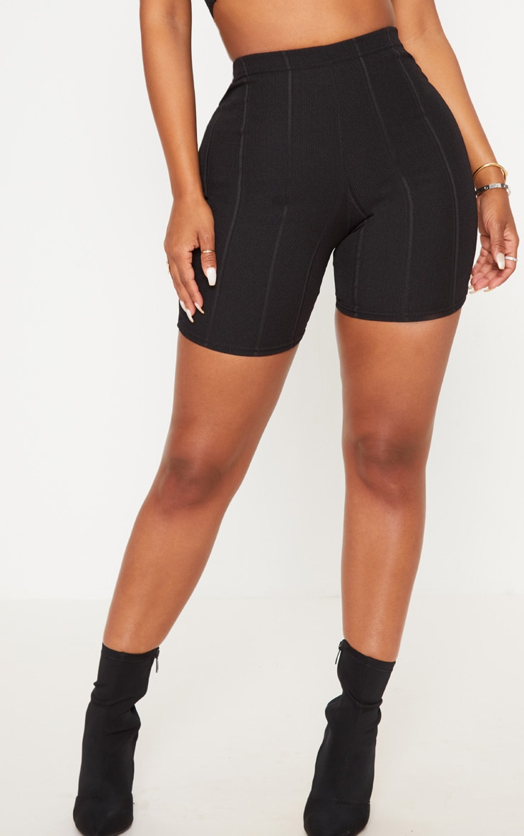 Shape Black Bandage bike Shorts 2