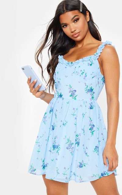 Skater Dresses Fit And Flare Dresses Prettylittlething