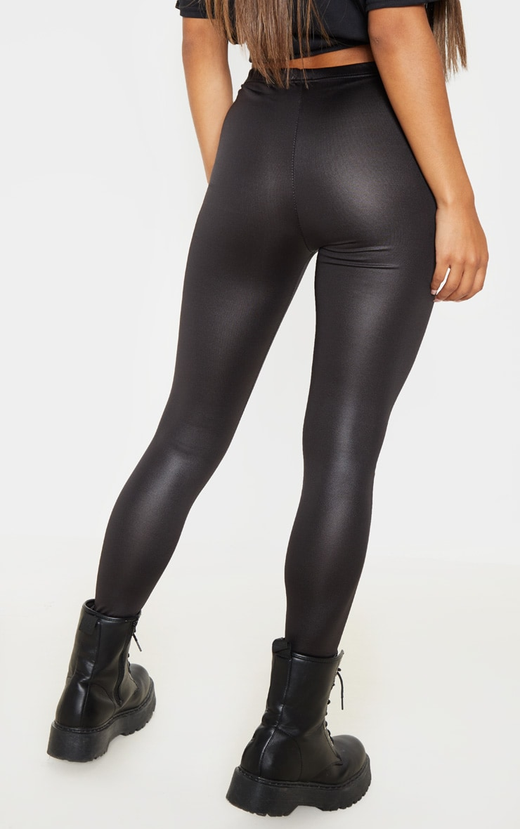 Savannah leggings noirs en vinyle 5