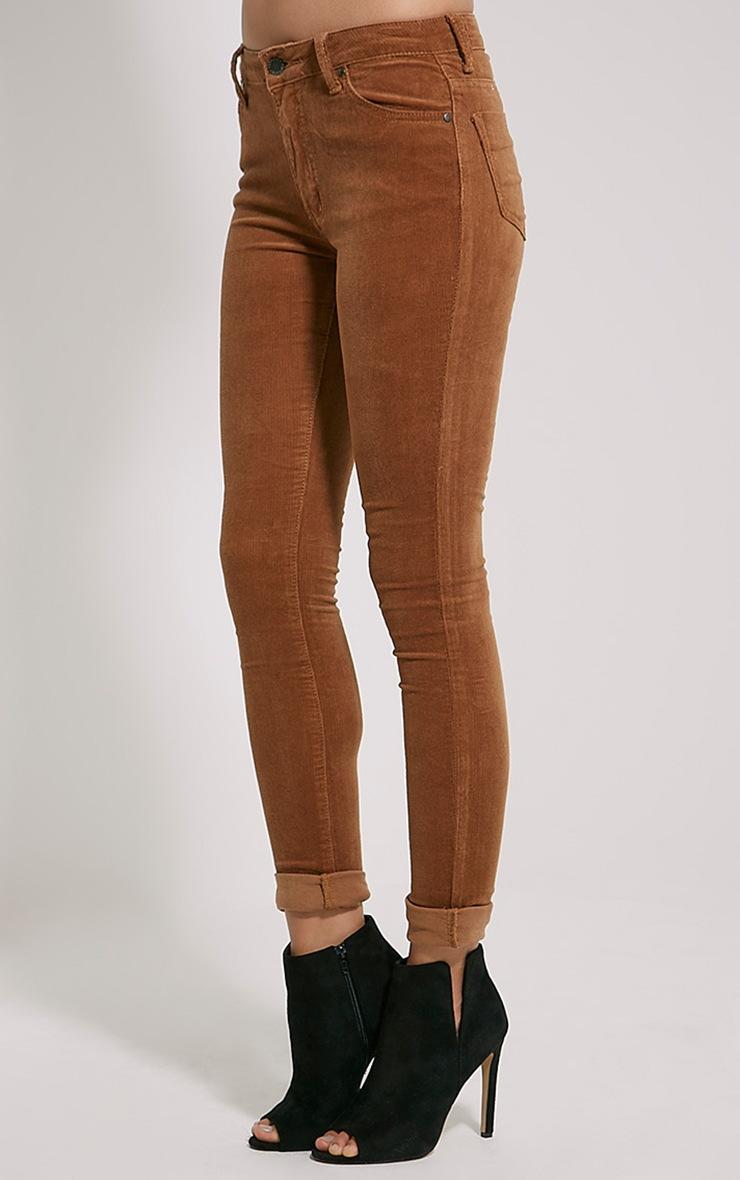 Shay Tan Skinny Corduroy Trousers 3