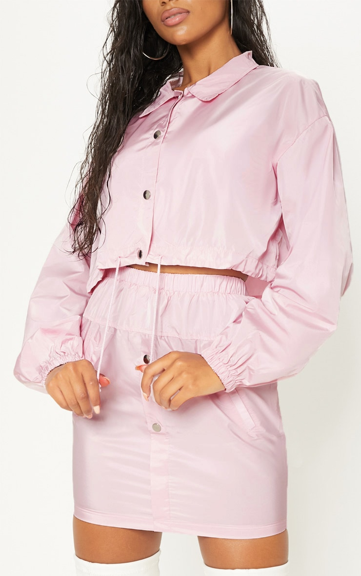 Pink Shell Suit Jacket 5