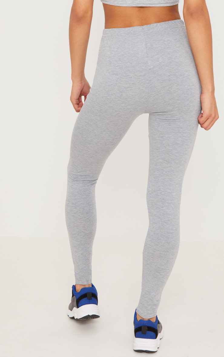 Black and Grey Basic Jersey Legging 2 Pack 6
