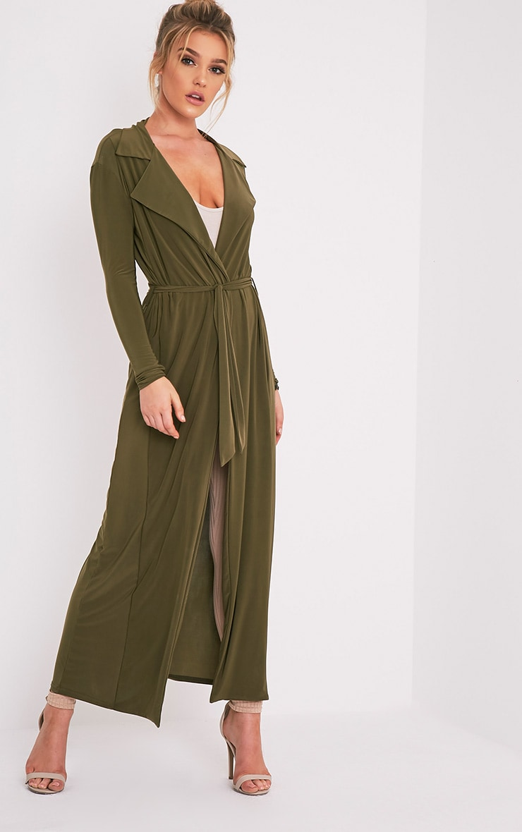 Stella Khaki Slinky Waterfall Jacket 4