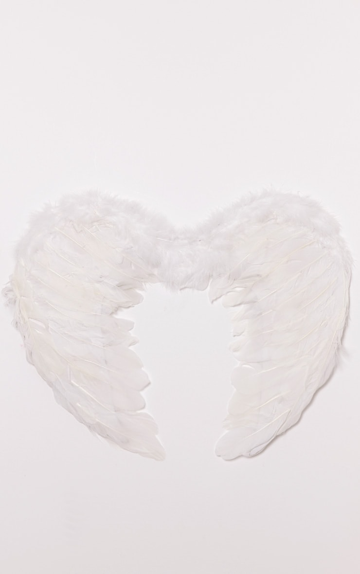White Feather Angel Wings 5
