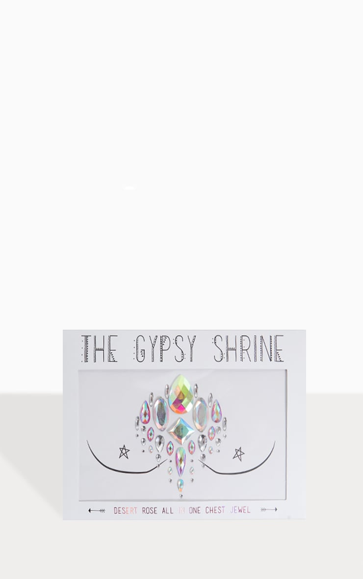 Bijou de poitrine The Gypsy Shrine - Desert Rose 1