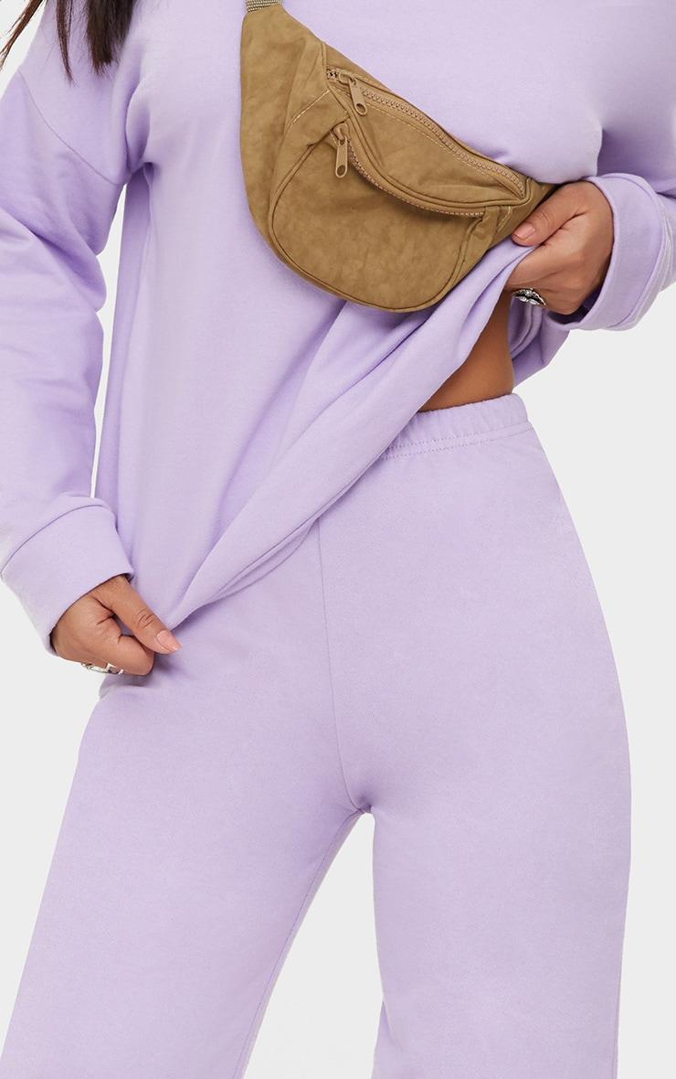 Lilac Sweat Joggers 5