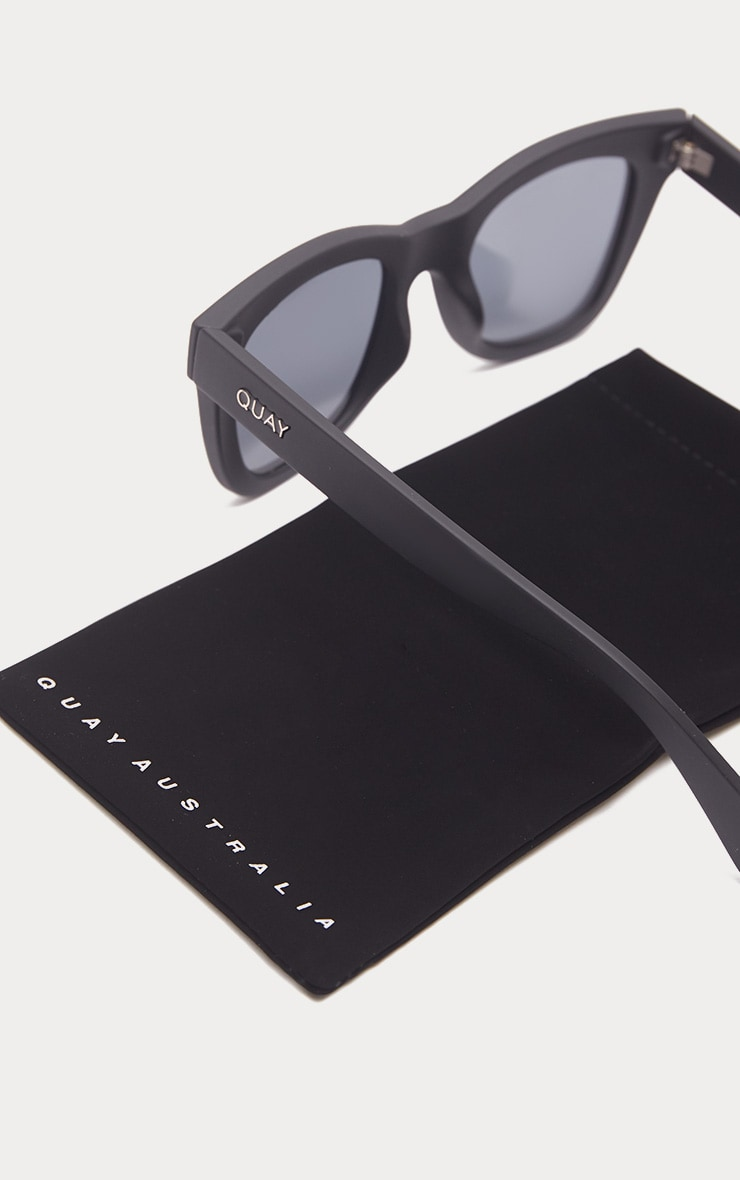 QUAY AUSTRALIA Black After Hours Oversized Sunglasses 4