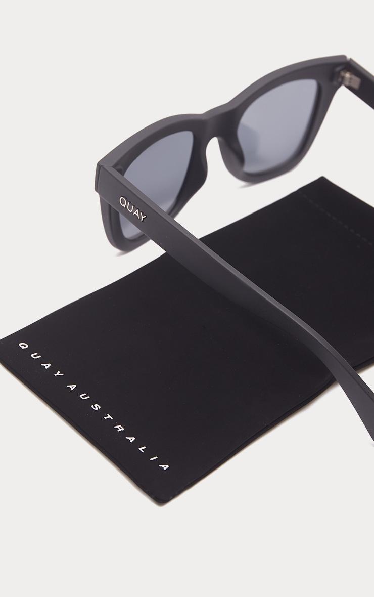 QUAY AUSTRALIA Black After Hours Oversized Sunglasses 5