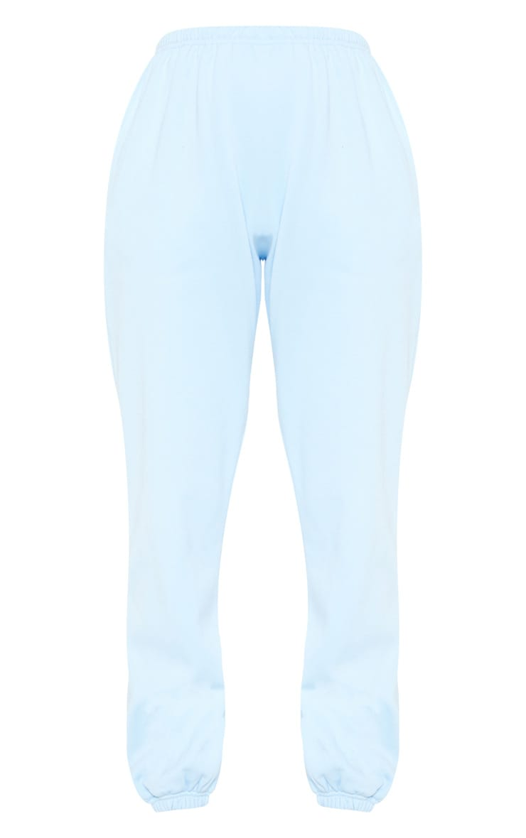 Pastel Blue Casual Track Pants 3