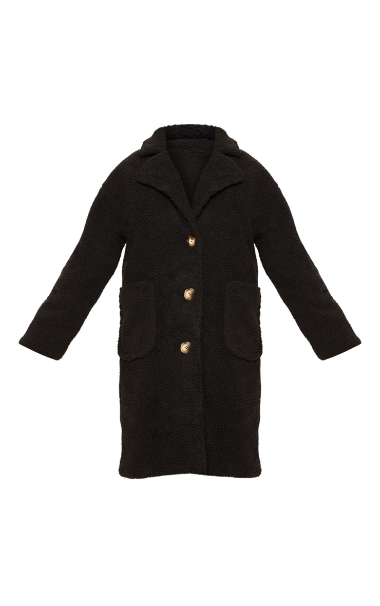 Black Borg Longline Coat  3