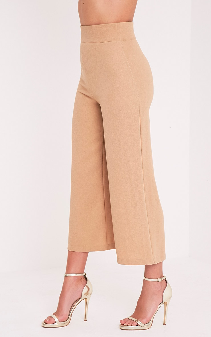 Tazmin Camel High Waisted Culottes 8