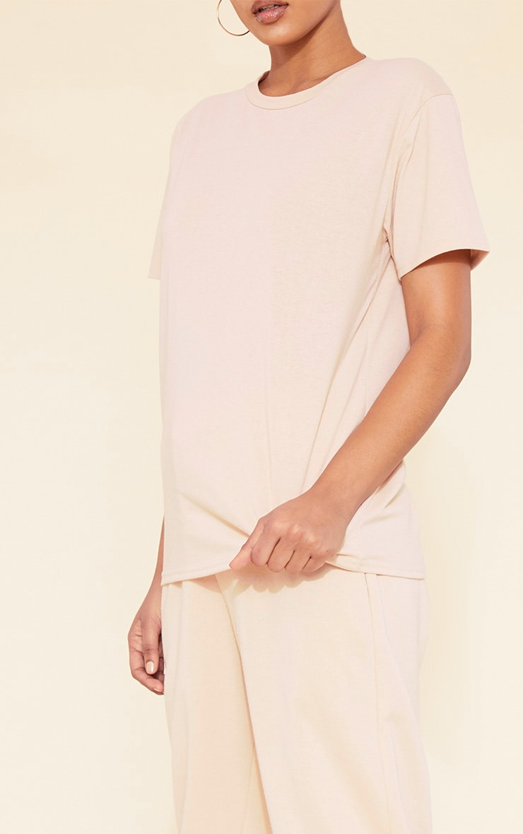 RECYCLED Deep Nude T Shirt 6