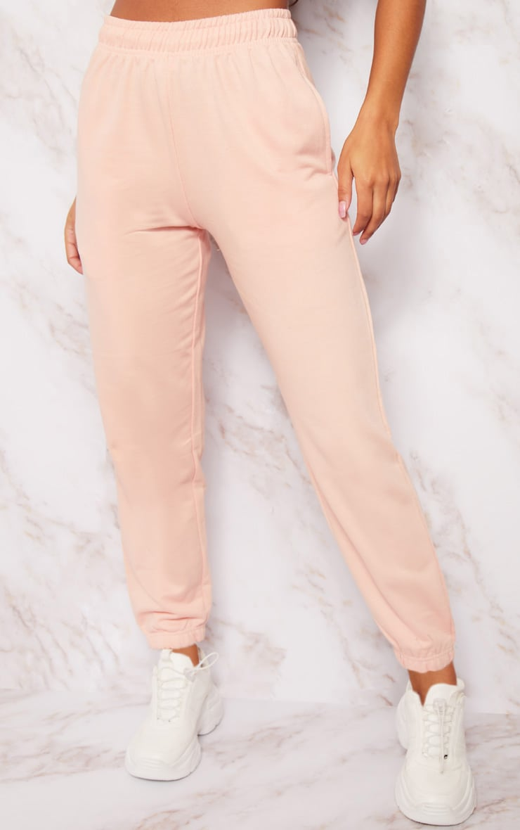 Pink Casual Joggers 2
