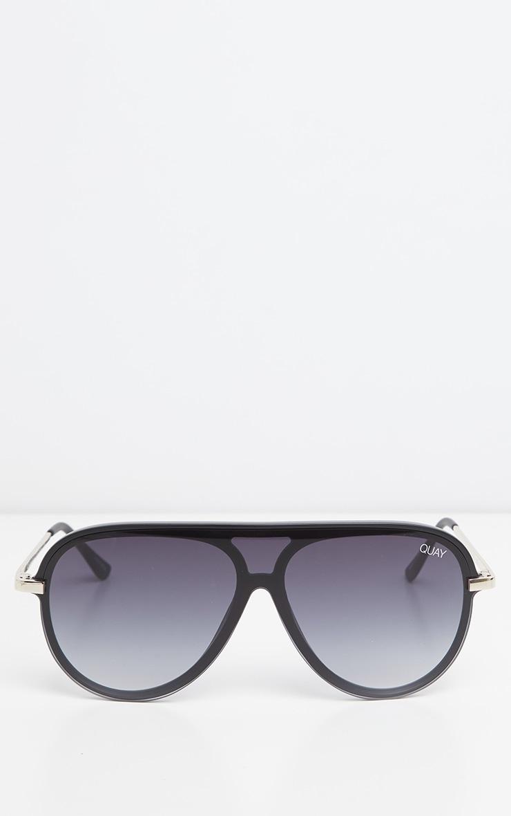 QUAY Black Smoked Empire Sunglasses 2