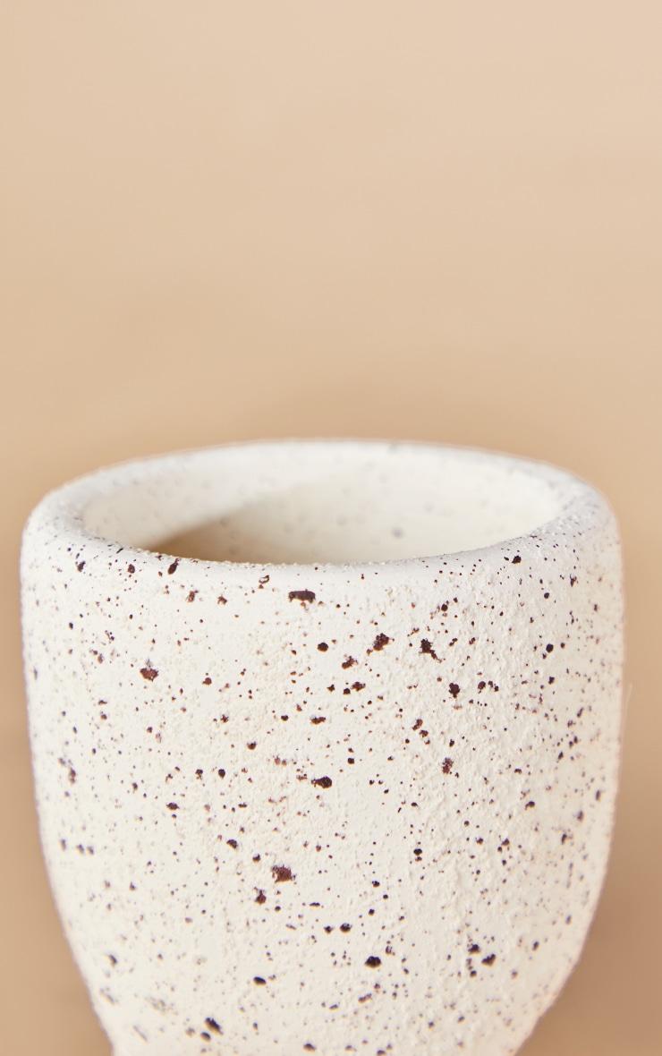 Petit pot crème à pois et pieds 4