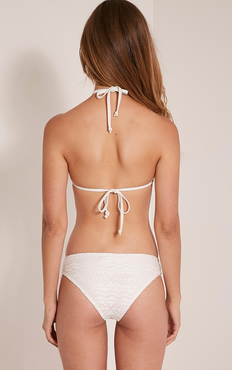 Tanah White Lace Detail Bikini 2