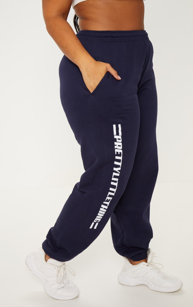PRETTYLITTLETHING Plus Navy Casual joggers 2