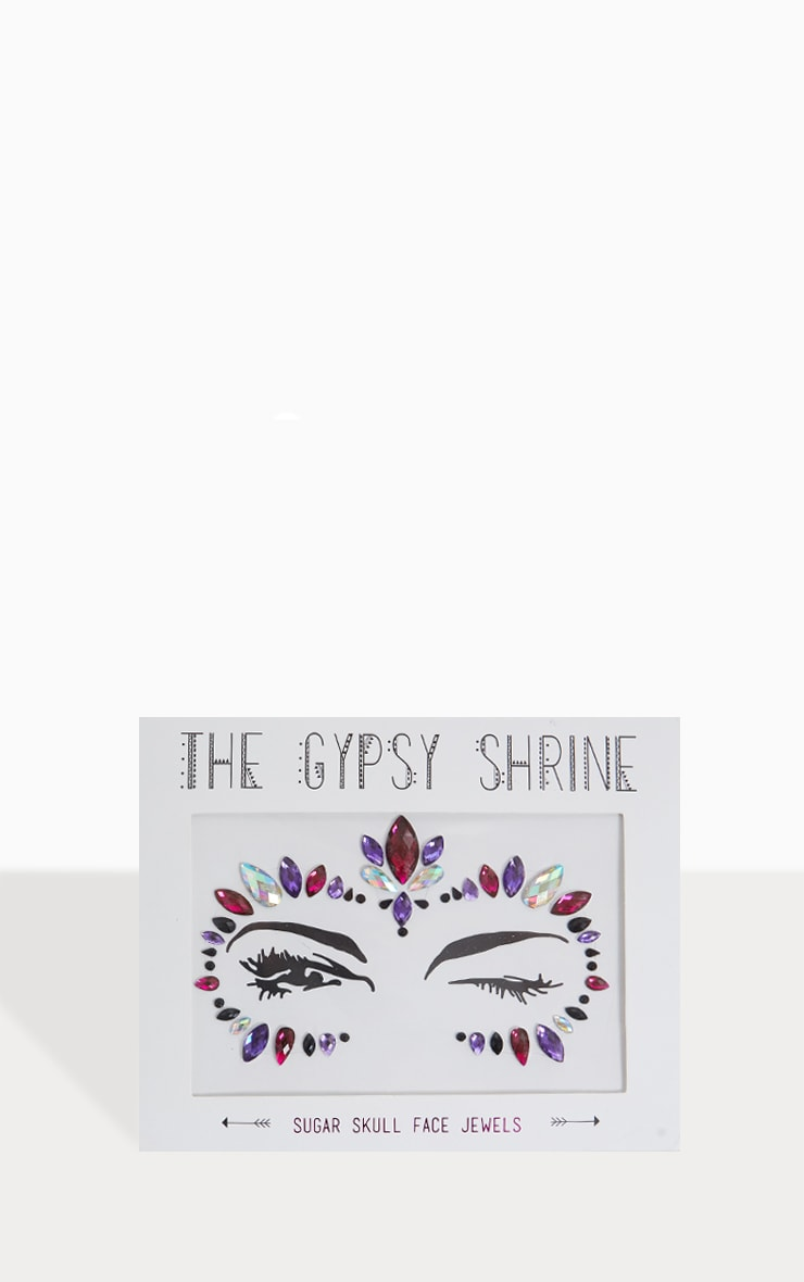 The Gypsy Shrine Candy Skull Face Jewels 1