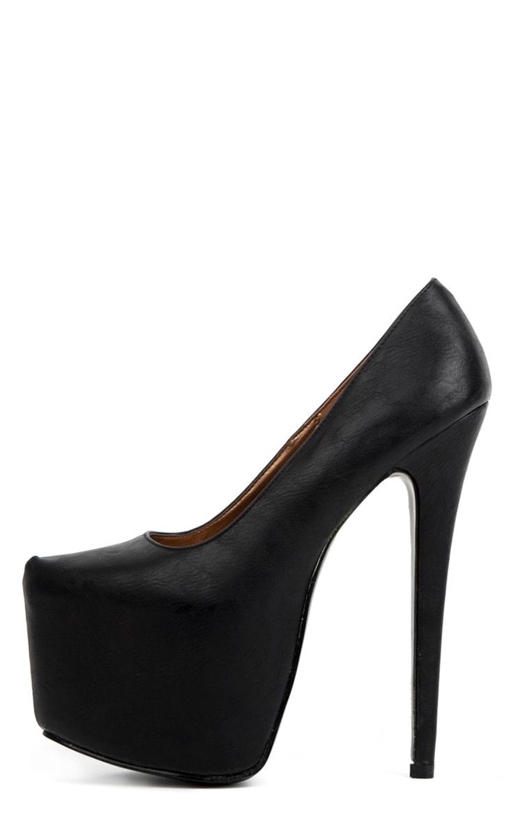 Ami Black Stiletto Heels 1