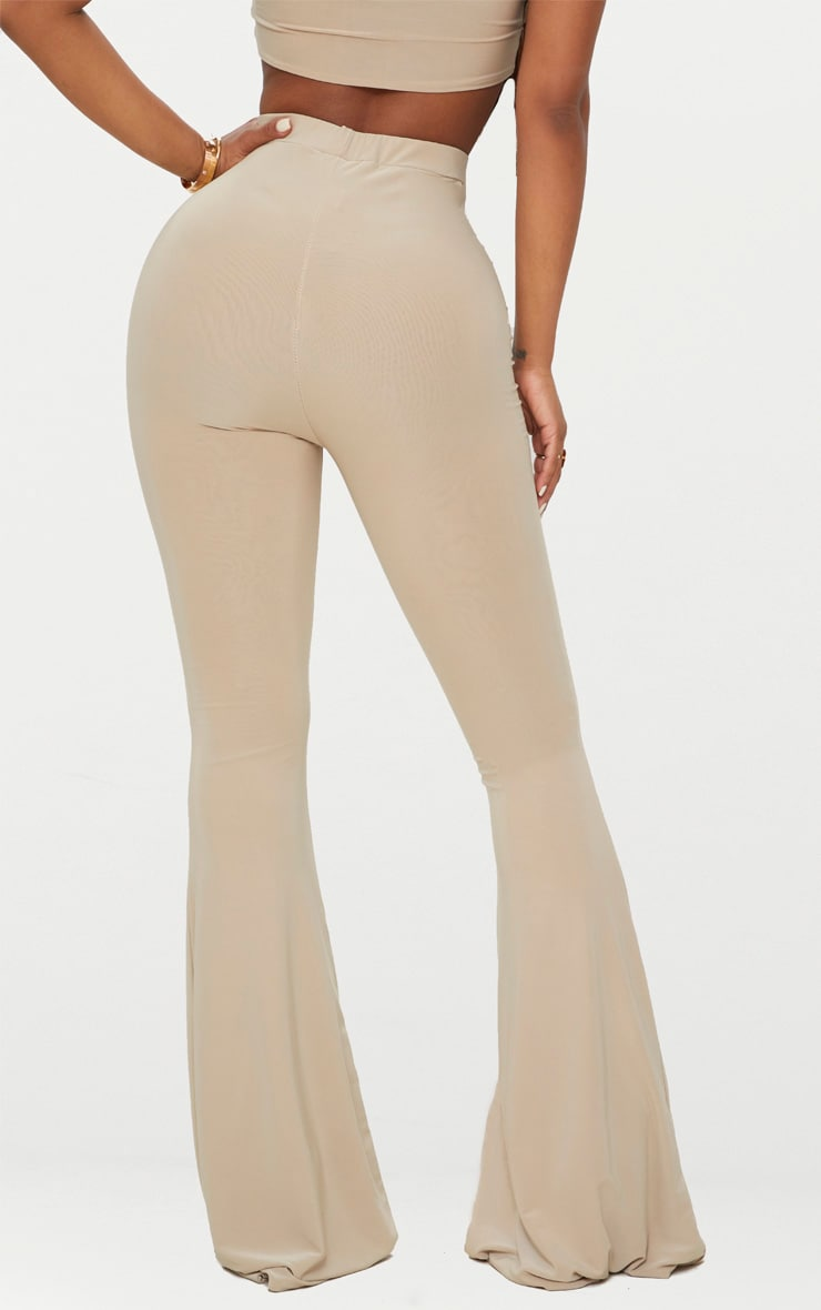 Shape Stone Slinky Flared Trousers 4