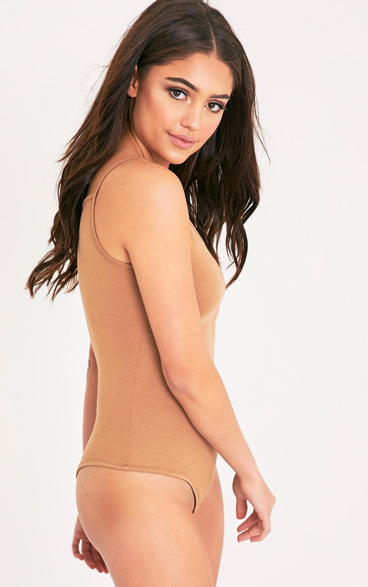 Basic Camel Bodysuit 5
