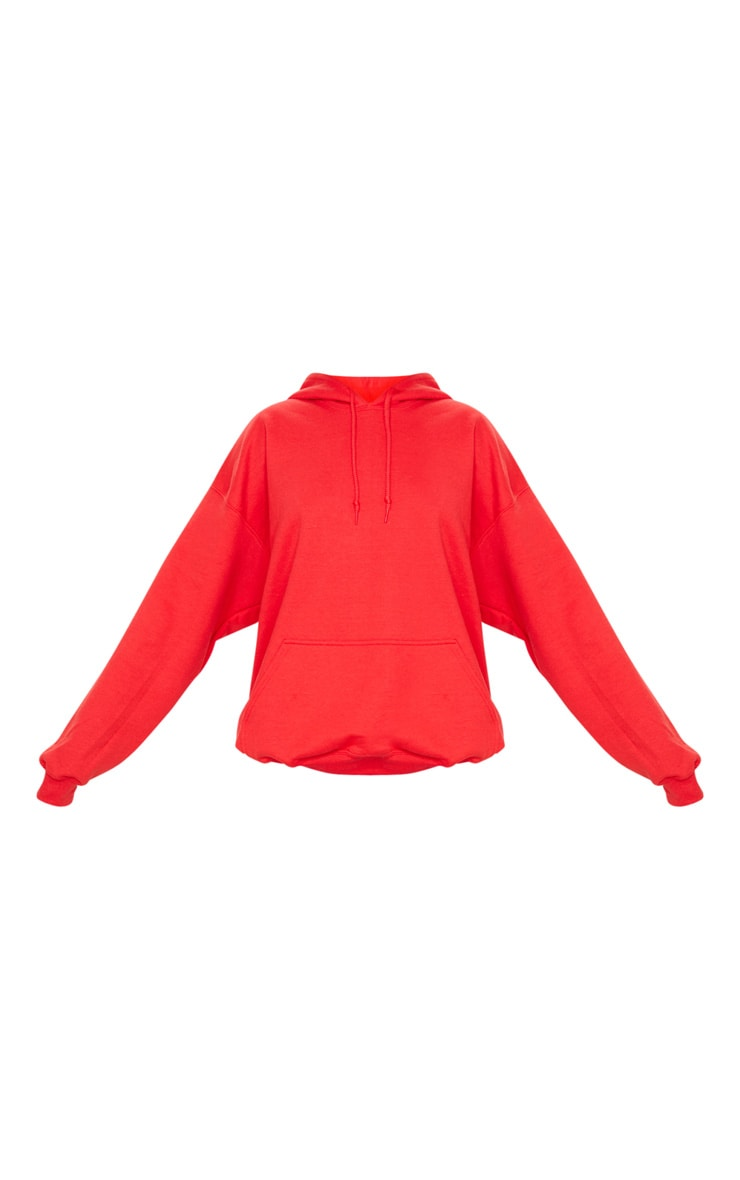 Red Ultimate Oversized Hoodie 3
