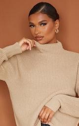 Stone High Neck Sweater 4