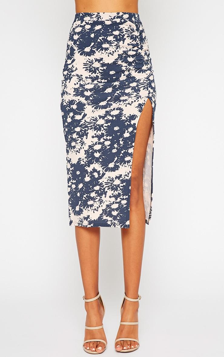 Trixie Floral Print Midi Skirt 2