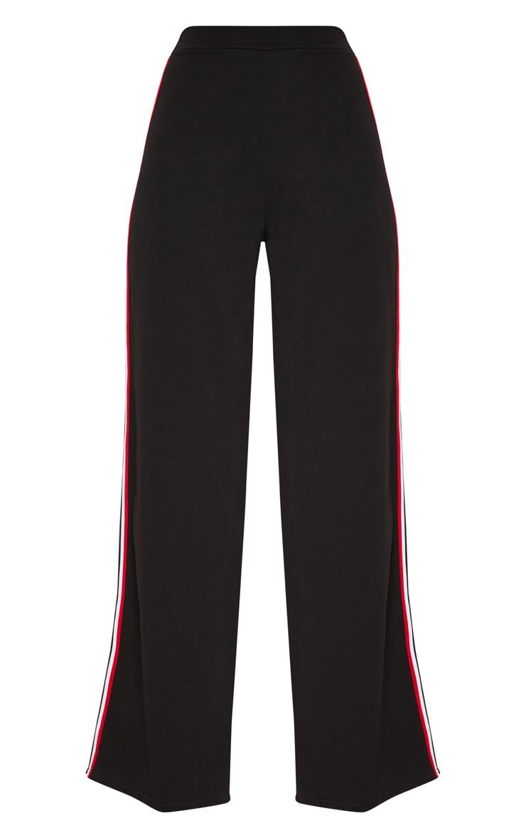 Black Tape Wide Leg Trouser 3