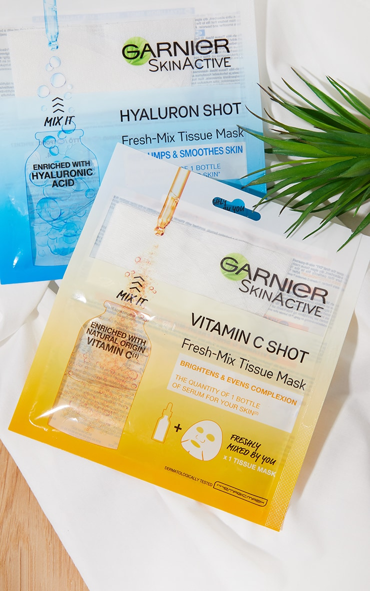 Garnier Fresh-Mix Brightening with Vitamin C Sheet Mask 3