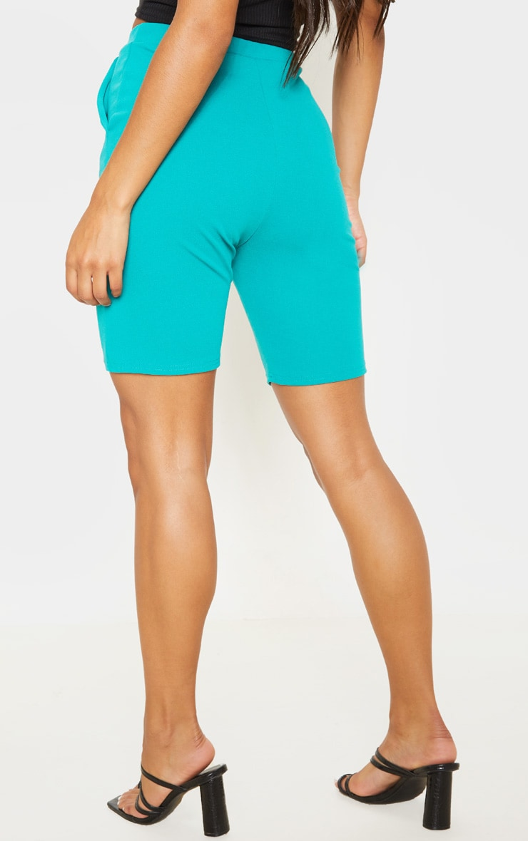 Teal Cycling Suit Shorts  4