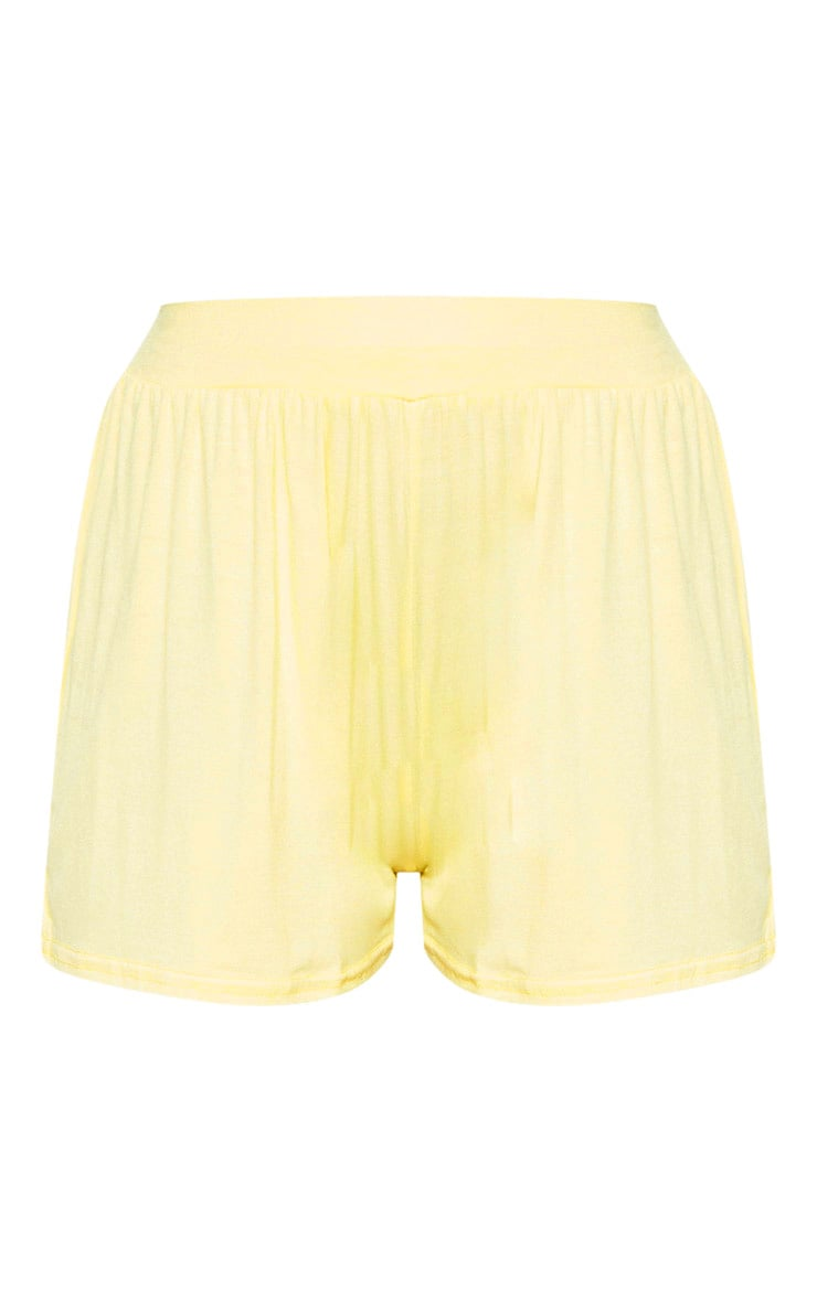 Lemon Jersey Floaty Shorts 3