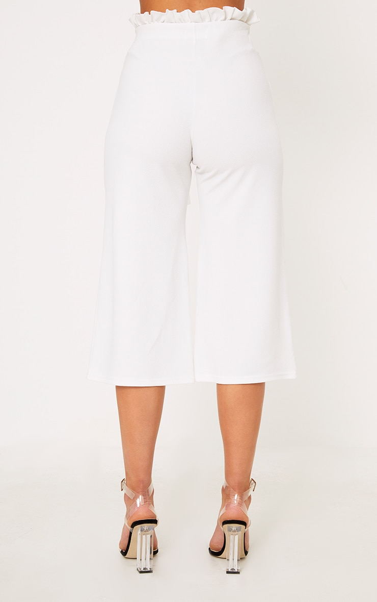 White Paperbag Culottes 4