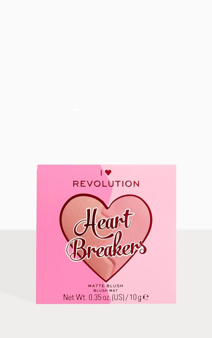 I Heart Revolution Heartbreakers Matte Blush Creative 2