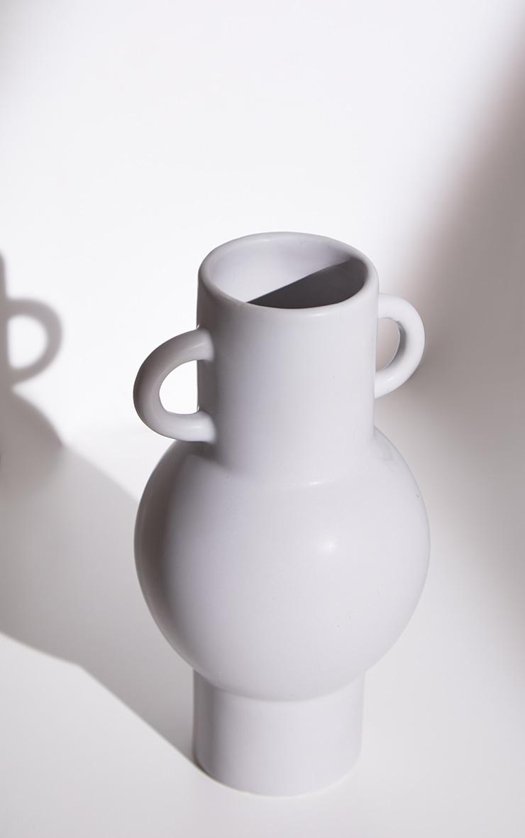Grey Totem Grey Vase 5