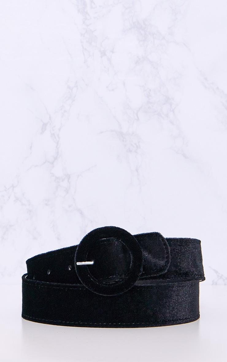 Black Velvet Belt 5