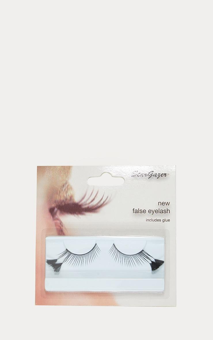 Stargazer Black Faux Feather Festival Style Eyelashes No.54 3