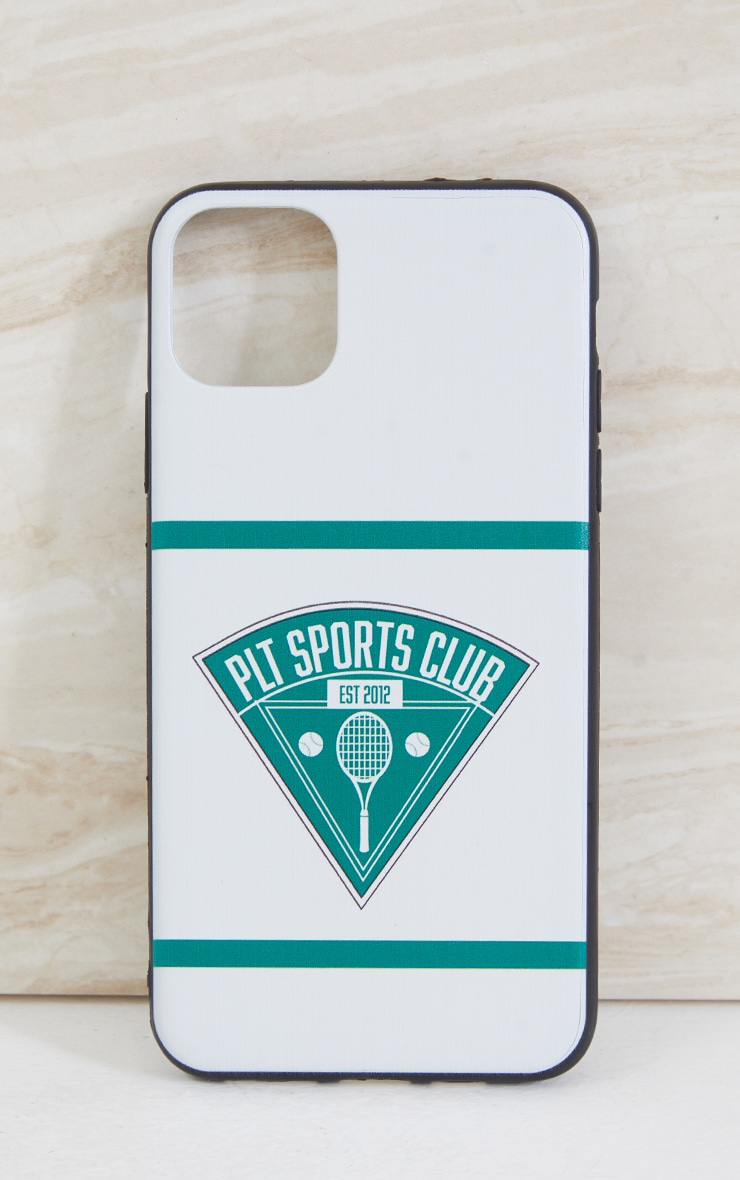 PRETTYLITTLETHING White Tennis Club Iphone XS MAX/11 Pro Max Case 2