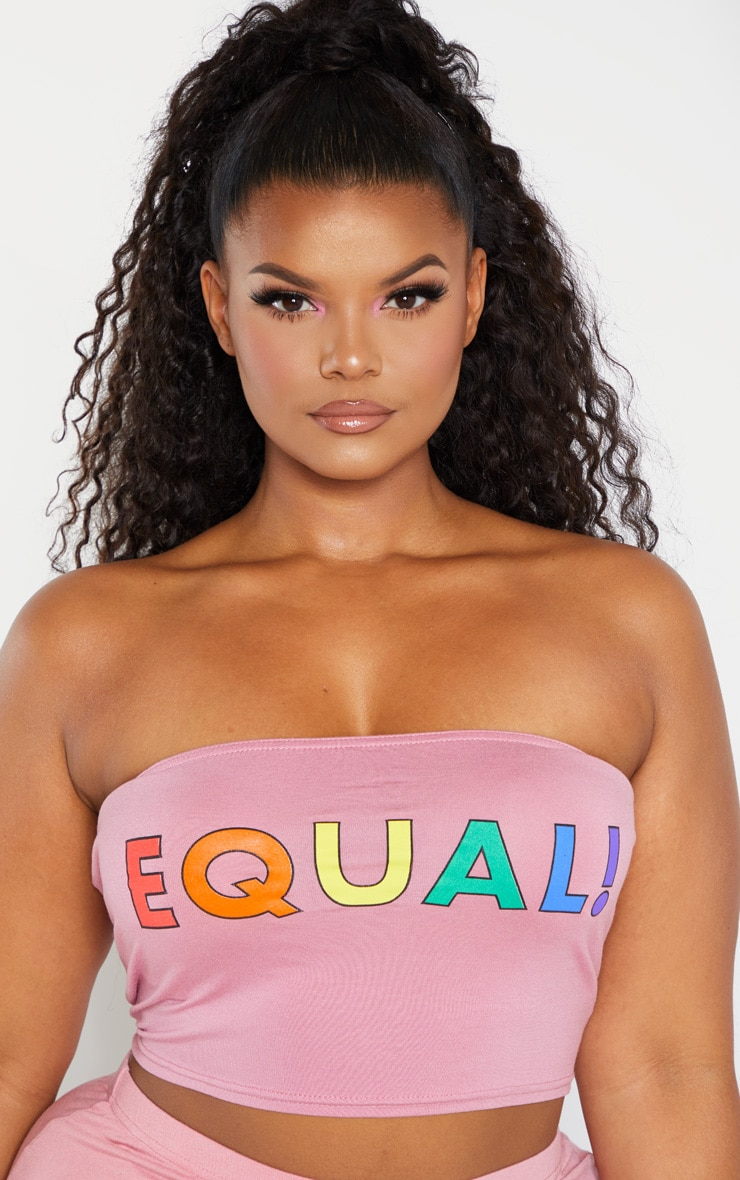 Plus Pink Equal Bandeau 4
