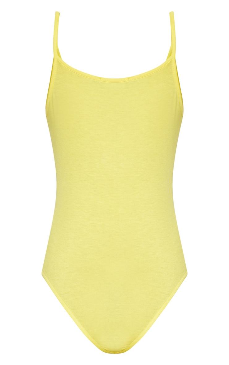 Basic Lemon Bodysuit 4