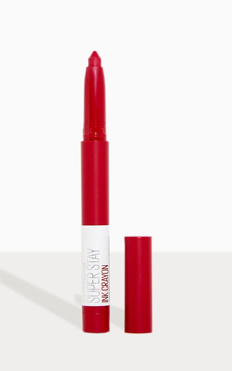 Maybelline Superstay Matte Ink Crayon Pink Lipstick 75 Speak Your Mind 1