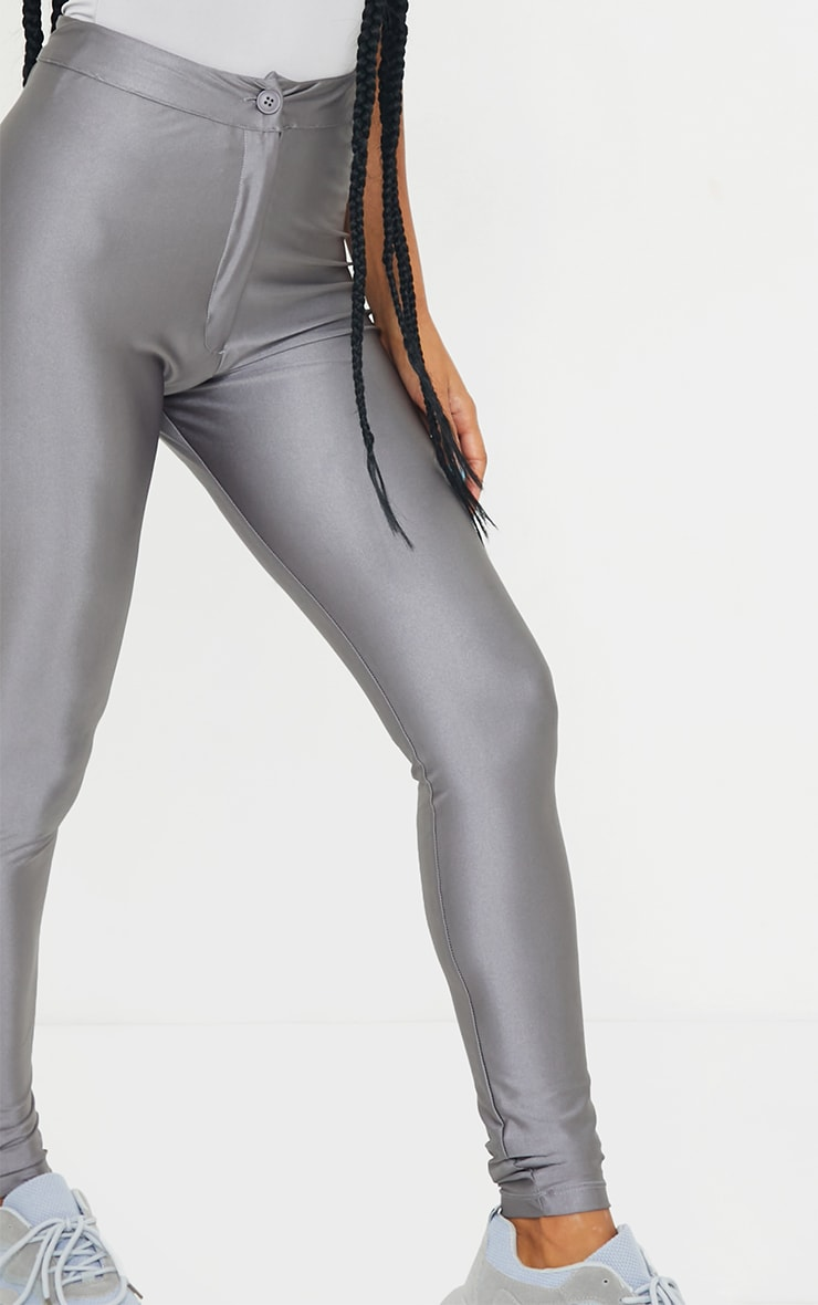 Charcoal Disco Trousers 4