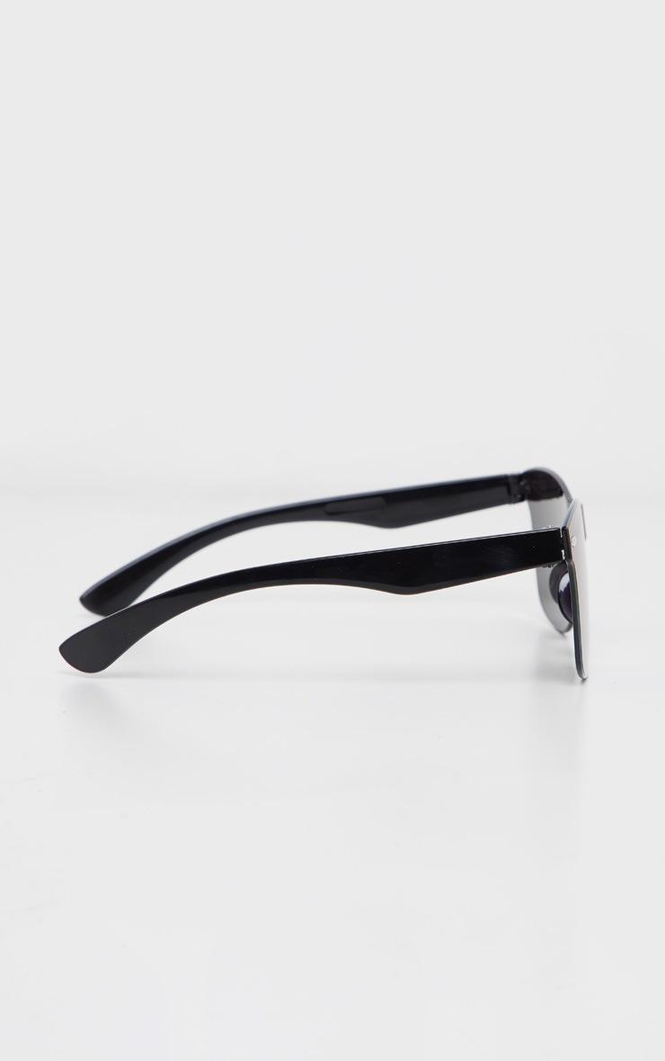 Green Rimless Revo Wayfarer Sunglasses 3