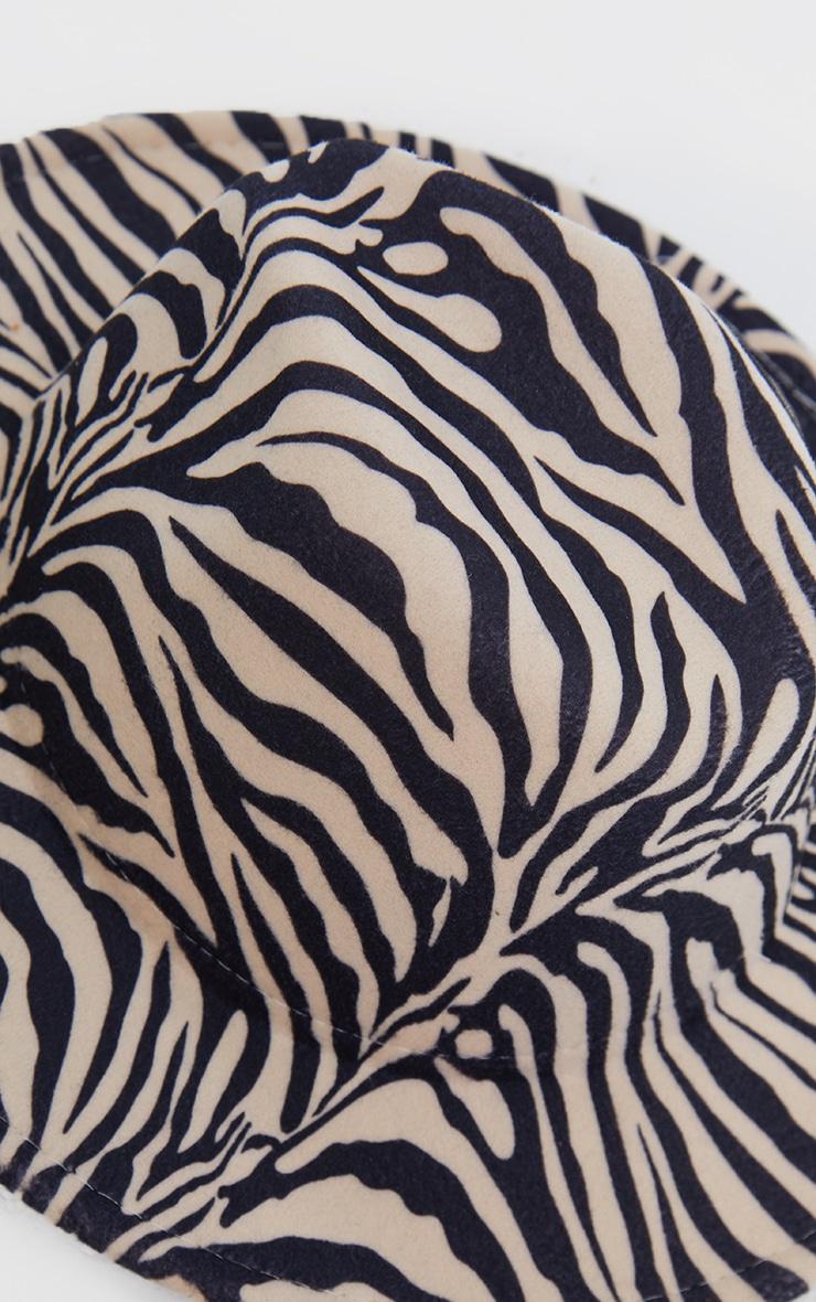 Nude Zebra Fedora 2