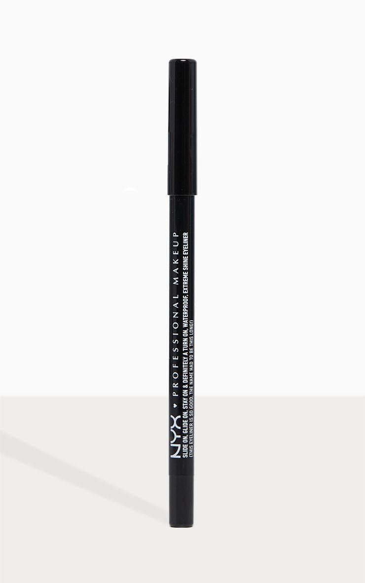 NYX PMU Slide On Pencil Jet Black 1
